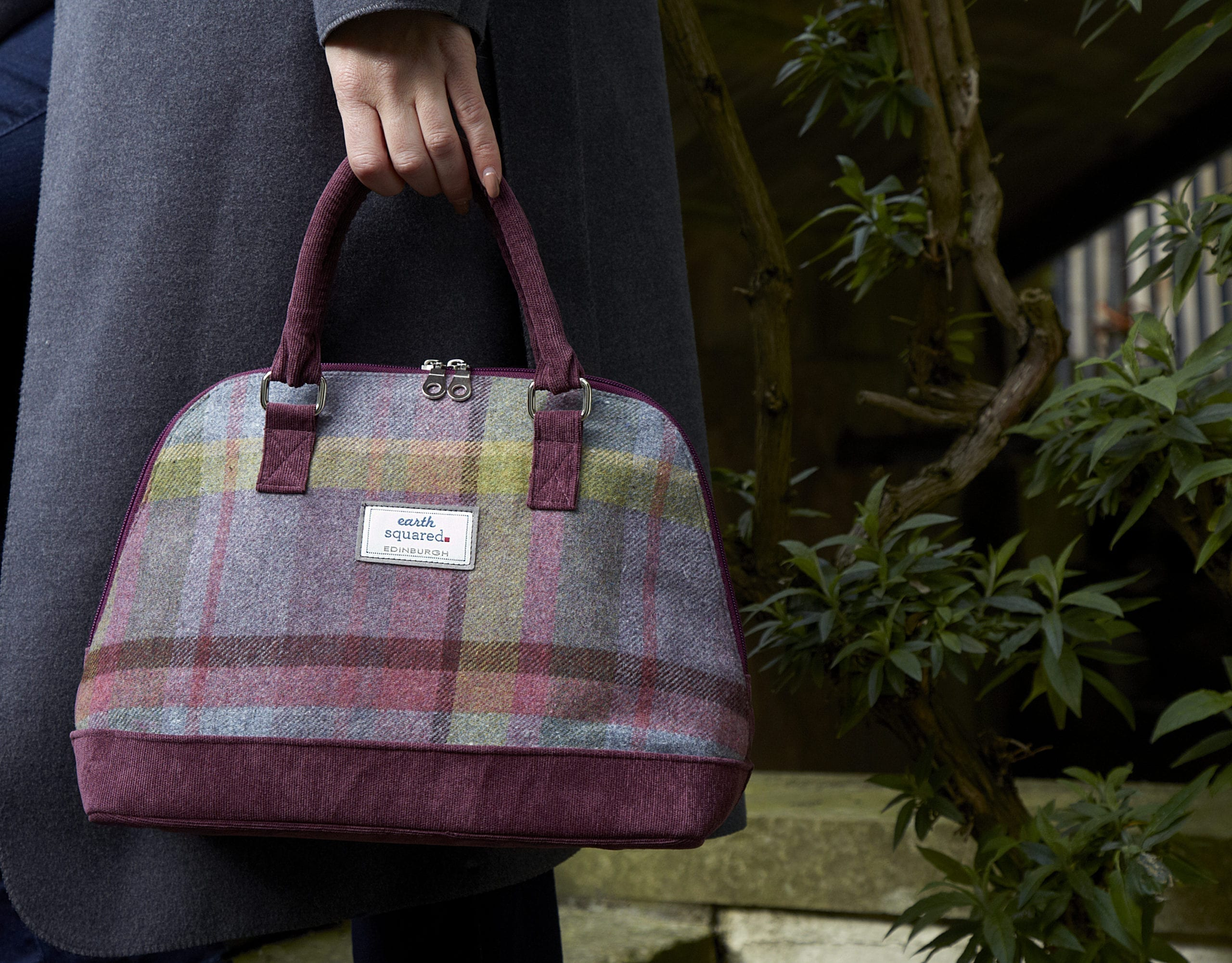 Earth Squared Tweed Collection Bag